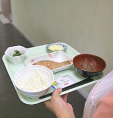 お食事提供の写真